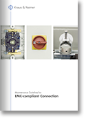 Maintenance Switches  for EMC-compliant connection  for FU-regulated drives