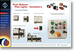 Push Buttons Pilot Lights Contactors