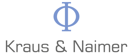 Kraus and Naimer Logo (solid, portrait, Phi, K&N)